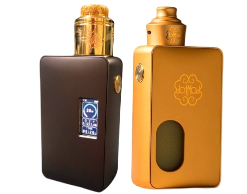 Features of Dotmod Dotsquonk 100w Box Mod in Review